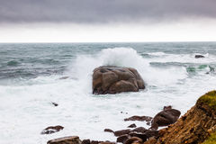 Rough water Stock Images
