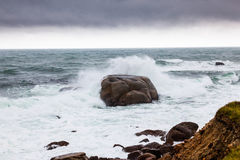 Rough water Royalty Free Stock Photo