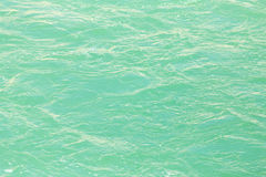 Rough water on the surface Royalty Free Stock Images