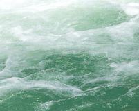 Rough water on the surface. Photo of abstract background Royalty Free Stock Photos