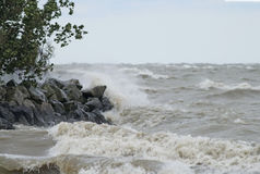 Rough Waters Stock Image