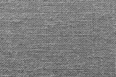 Rough wattled sackcloth texture of black color Royalty Free Stock Photo