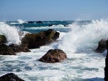 Rough waves Stock Photos