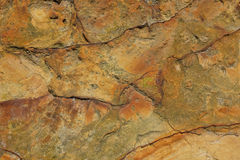 Rough, weathered sandstone Royalty Free Stock Photos