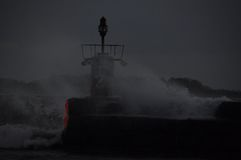 Rough wheather Stock Photography