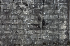 Rough white brick wall Royalty Free Stock Photos