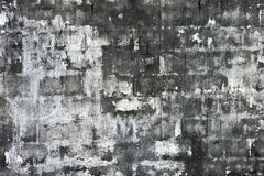 Rough white brick wall Royalty Free Stock Photo