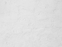 Rough white cement wall Stock Image