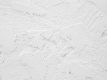 Rough white cement wall Stock Photo