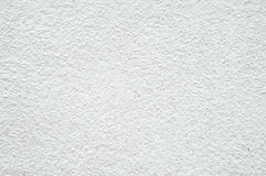 Rough white concrete wall texture as background Royalty Free Stock Photos