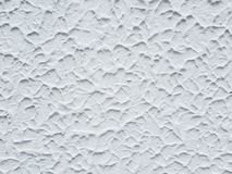 Rough white wall background Stock Images