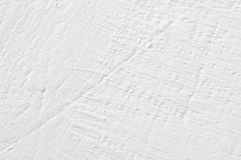Rough whitewashed wall texture Stock Photography