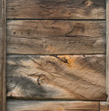 Rough wood. Background with marked lines Stock Images