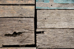 Rough wood board Royalty Free Stock Photos