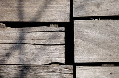 Rough wood board Royalty Free Stock Photography