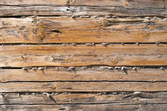 Rough wood wall background Royalty Free Stock Photo