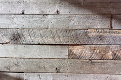 Rough wood wall wide Royalty Free Stock Photos