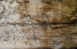 Rough wooden background. A background of rough wood Royalty Free Stock Photo