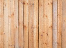 Rough wooden plank. Surface of wall covered a rough wooden plank royalty free stock photo