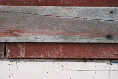 Rough wooden wall with abrasive and have some space for write wording Stock Images