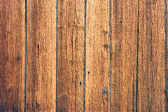 The rough wooden wall, wood texture, background Royalty Free Stock Photos
