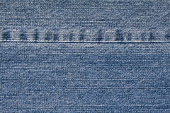 Rough Worn deniem fabric Royalty Free Stock Images
