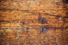 Rough worn wooden plank texture Royalty Free Stock Photos