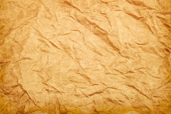 Rough wrinkled paper texture background Royalty Free Stock Image