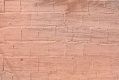 Roughcast on brick wall pattern texture background royalty free stock image