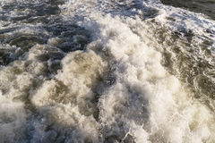Roughened water Royalty Free Stock Image