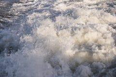 Roughened water Royalty Free Stock Photos