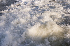 Roughened water Royalty Free Stock Photography