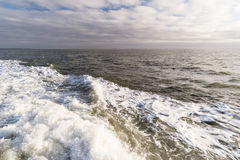 Roughened water Stock Images