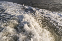 Roughened water Stock Photography