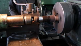 The old lathe stock video