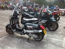 Roughley bike bash. Heres a few bikes from when i visited roughleys bike bash in stockport stock photography