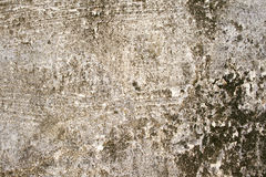 Roughly Cemented Wall Royalty Free Stock Images
