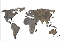 Roughly sketched out world map with patterns. Roughly sketched out world map as global business concepts stock photos