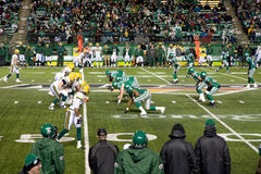 Roughriders vs Eskimoes Stock Images