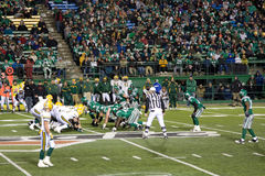 Roughriders vs Eskimoes Royalty Free Stock Images
