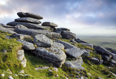 Roughtor on Bodmin Moor Royalty Free Stock Photos