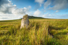 Roughtor on Bodmin Moor Royalty Free Stock Photo