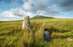 Roughtor on Bodmin Moor Stock Photography