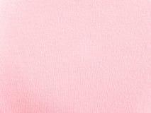 Rougissent le tissu rose de vêtements de nuit Images stock