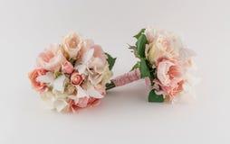 Rougissez et écrémez les bouquets Image libre de droits