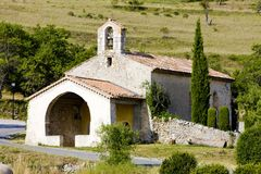 Rougon, Provence, France Stock Photography