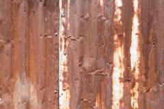 Rouillé abstrait de Tin Roof photos libres de droits
