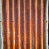 Rouillé abstrait de Tin Roof Images stock