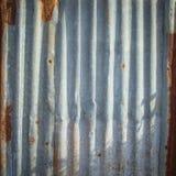 Rouillé abstrait de Tin Roof Photographie stock