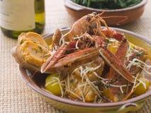 rouille bouillabaisse croutes statków Fotografia Stock